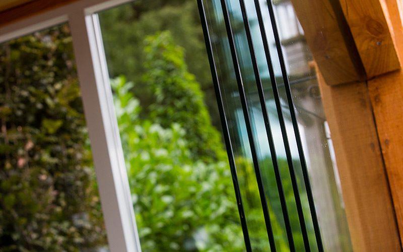 Terrasoverkapping glasplaat